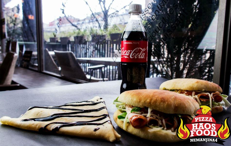 Super obrok klasik sendvič pečenica za dve osobe logo