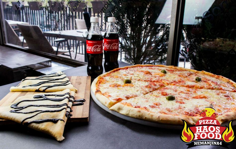 Super obrok pica za četiri osobe logo