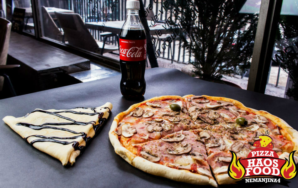 Super obrok pica za dve osobe logo