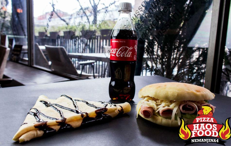 Super obrok sendvič šunka klasik logo
