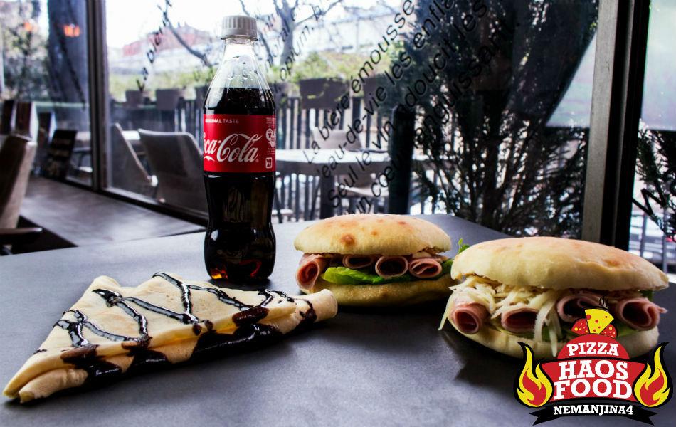 Super obrok sendvič šunka klasik za dve osobe logo