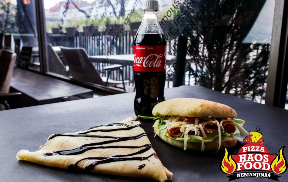 Super obrok sendvič pečenica klasik logo