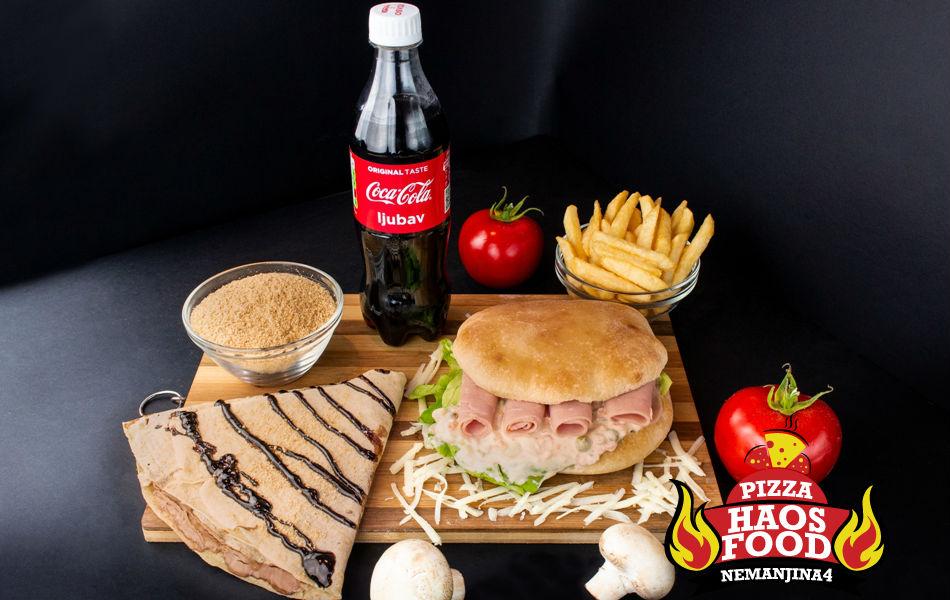 Combo Doručak sendvič