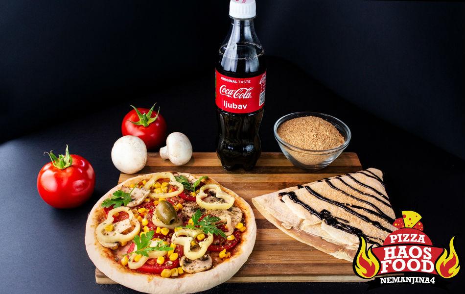 Combo Mini pica Vegeterijana